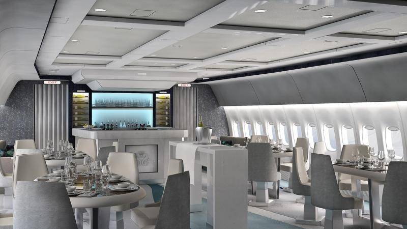 Los cruceros aéreos de Crystal Cruises, un nuevo lujo