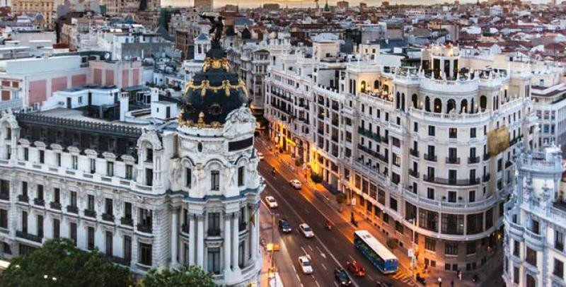 Madrid tiene una gran actividad nocturna.