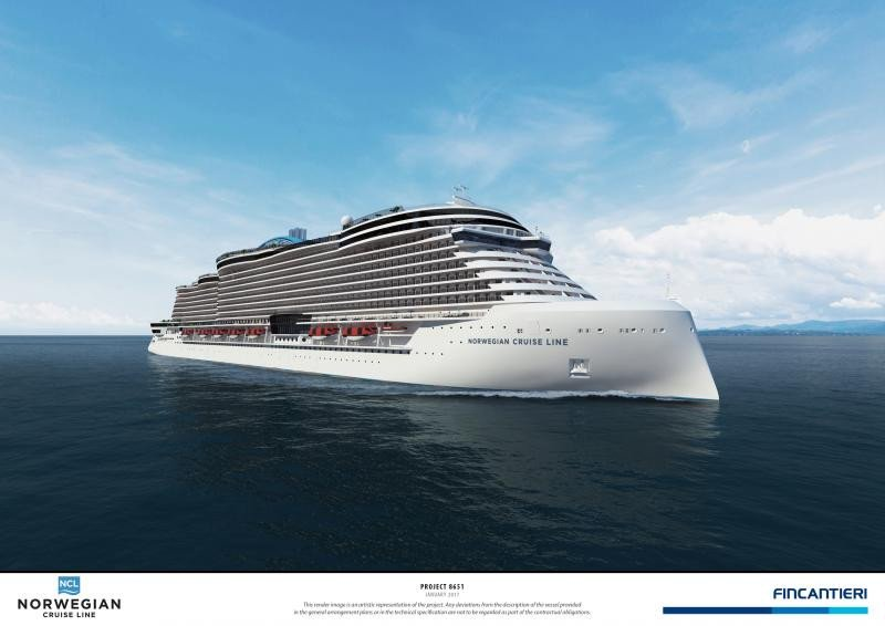 NCL presenta los barcos del Proyecto Leonardo