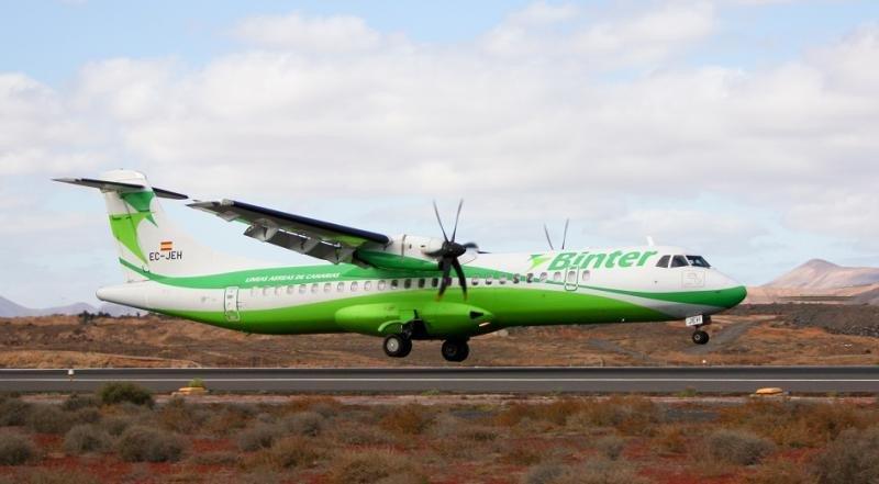 Binter amplía su oferta de vuelos entre Canarias y Madeira