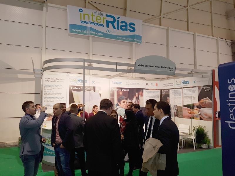 Viajes InterRías inaugura su primer stand en la Bolsa de Turismo de Lisboa