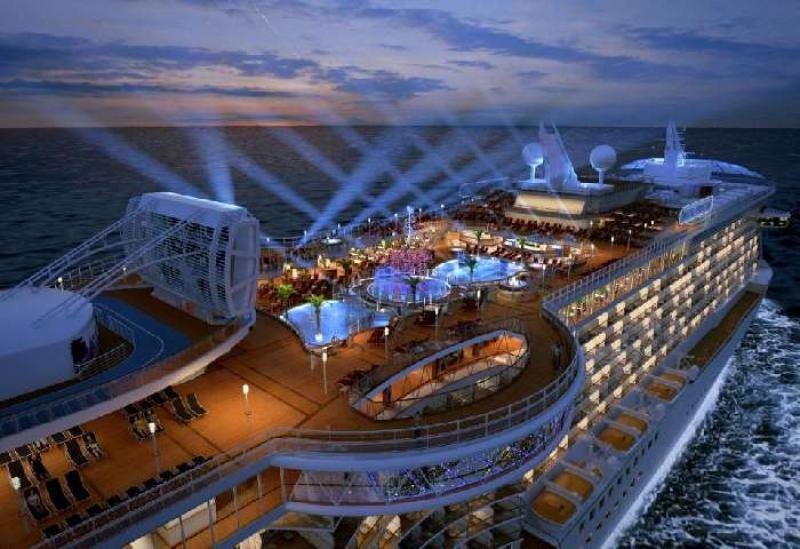El Royal Princess mantiene Cartagena como puerto base en 2017.