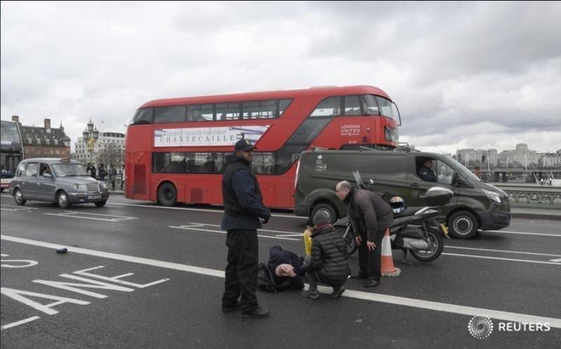 Atentado en Londres: cuatro muertos y 40 heridos en el ataque