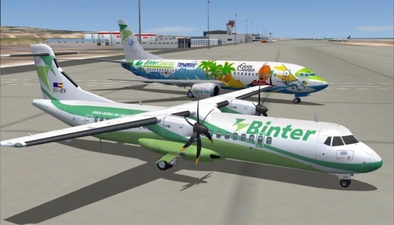 Binter comienza volar al Sahara