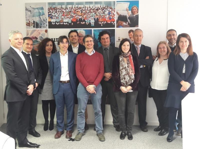 Todos los participantes en la mesa redonda sobre big data organizada por la Universidad Internacional de La Rioja.