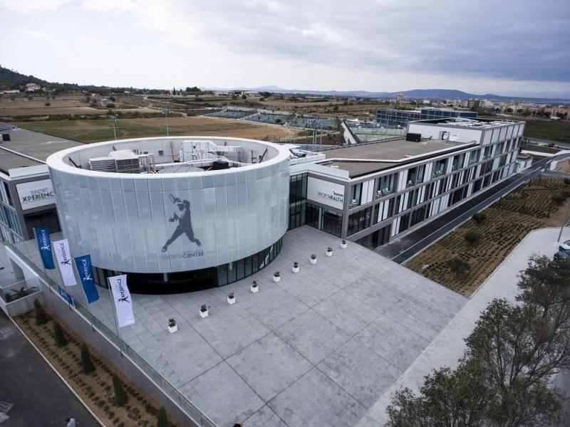 Rafa Nadal Sports Centre, con más de 40.000 metros cuadrados de instalaciones ubicadas dentro del mismo recinto que Rafa Nadal Academy by Movistar.