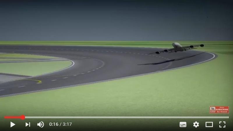 Pistas circulares, ¿el futuro de los aeropuertos?