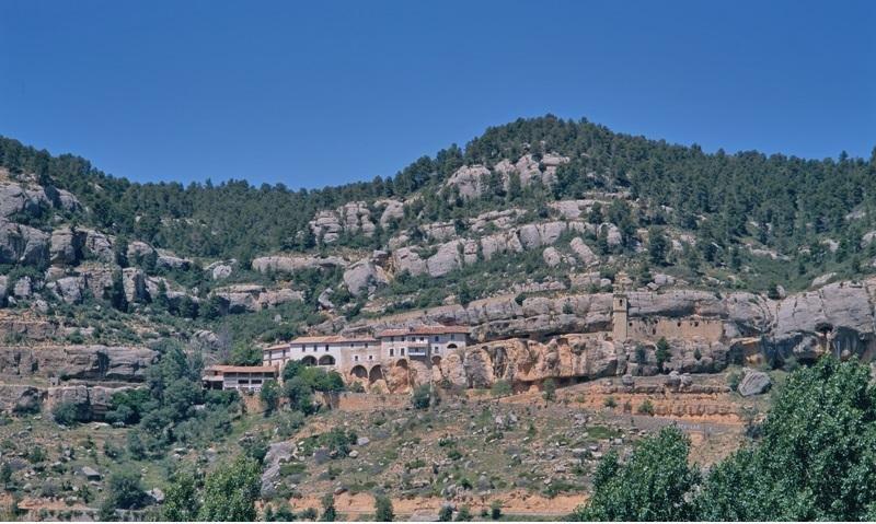 Santuario de la Virgen de Balma, declarado Bien de Interés Cultural, en Castellón.