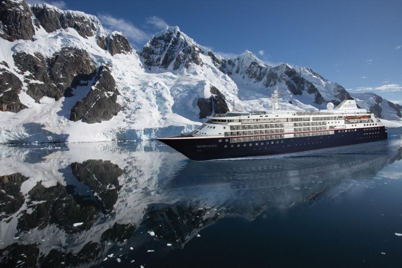 El crucero Silver Cloud se transformará para realizar expediciones de hielo