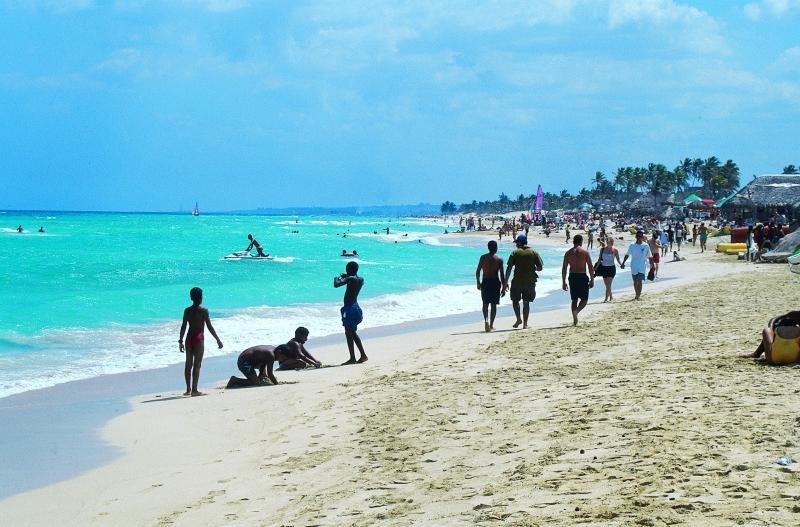 Imagen de archivo de una playa en Cuba