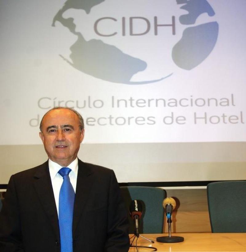 Vicente Romero es el presidente y fundador del Círculo Internacional de Directores de Hotel (CIDH).