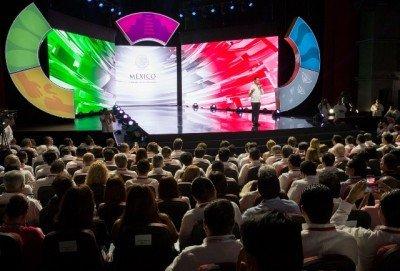 El presidente mexicano Enrique Peña Nieto dejó inaugurado el principal encuentro turístico del país.