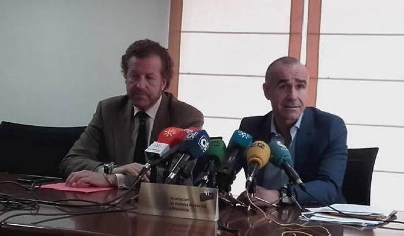 Manuel Otero y Antonio Muñoz (de izqu. a dcha.).