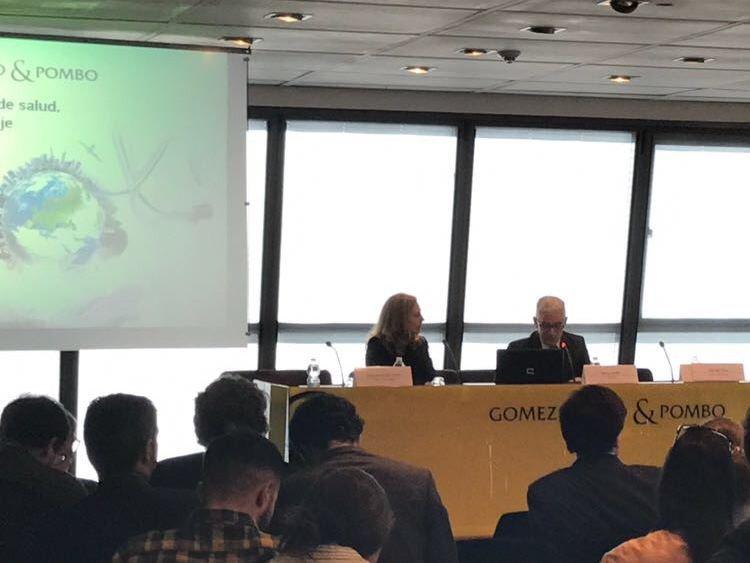 El presidente de Turespaña, Manuel Butler, clausuró el acto de presentación del informe.