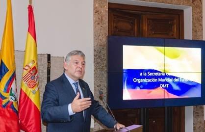 Jaime Alberto Cabal, el candidato por Colombia para dirigir la Organización Mundial del Turismo (OMT).