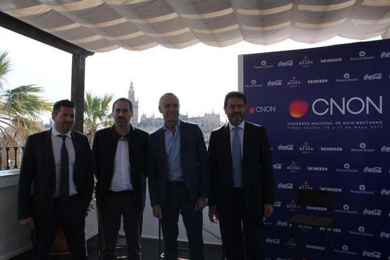 Joaquim Boadas, Pablo Arenas, Antonio Muñoz y Jesús Rojas (de izqu. a dcha.).