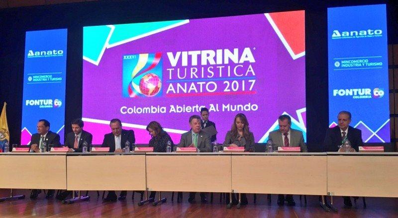 Gustavo Santos habló en la apertura como representante del País Invitado de Honor.