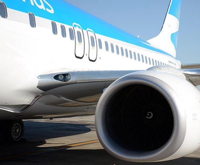 Aerolíneas Argentinas transportó 4,4% más pasajeros en febrero