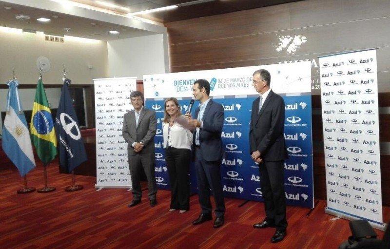 En menos de dos meses Azul vendió más de 15.000 pasajes para Buenos Aires