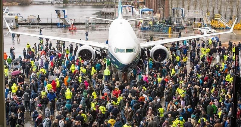 Sale de planta el B737 MAX-9, el avión de menores costos por asiento