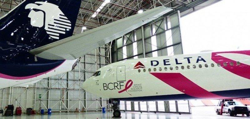 Delta completa compra de US$ 620 millones en acciones de Aeroméxico