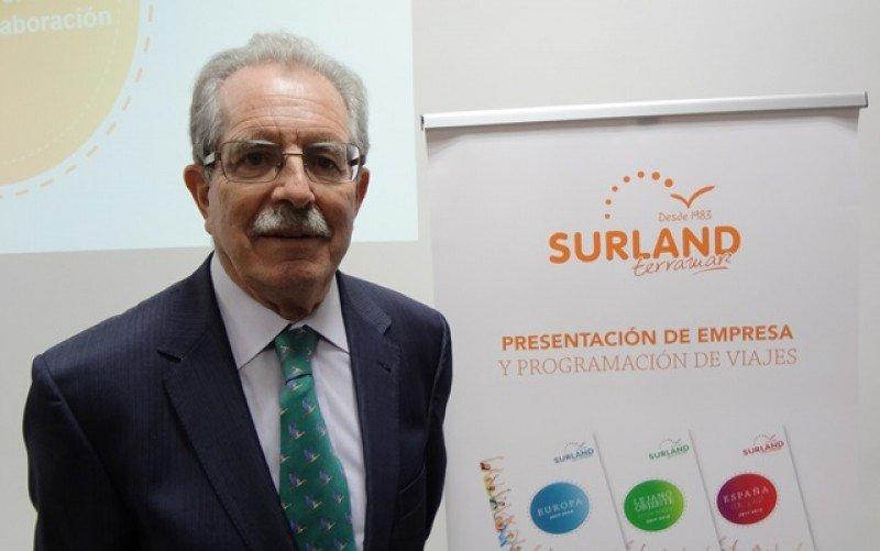 Tomás Navarrete, director comercial de Surland, en Montevideo.