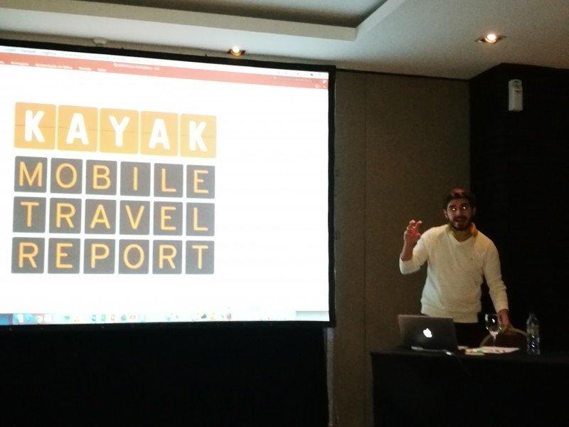 Rafael Driendl presentó el informe en Buenos Aires.