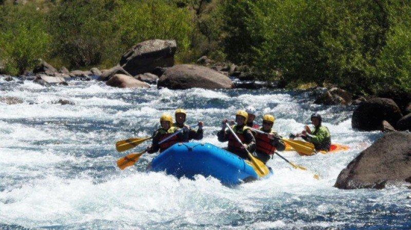 Neuquén mostrará su potencial de aventura de la mano del rafting