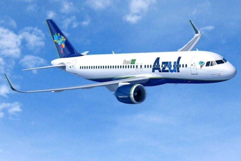 Airbus A320neo de Azul Linhas Aéreas.