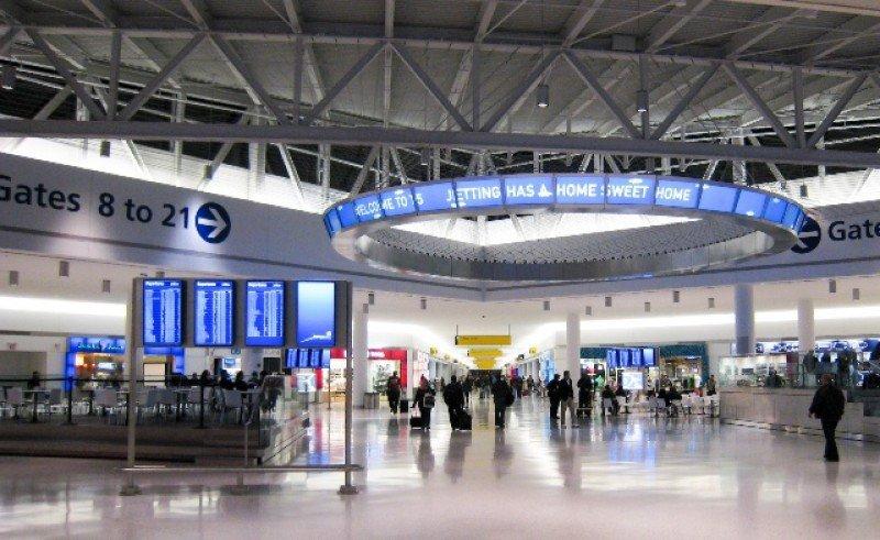 El aeropuerto JFK de Nueva York encabezó el movimiento internacional.