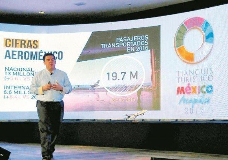 Jorge Goytortúa, vicepresidente de Ventas de Aeroméxico en Acapulco. Foto: Portafolio.co/Aeroméxico