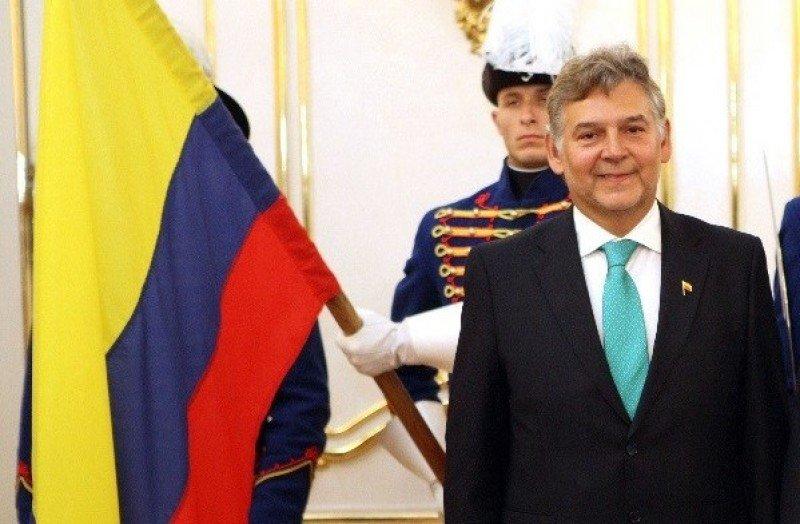 Jaime Alberto Cabal, embajador de Colombia en Austria, presentó en Madrid sus iniciativas para la OMT.