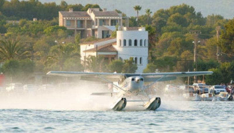 Hidroaviones para conectar las Baleares, un proyecto premiado por CAEB