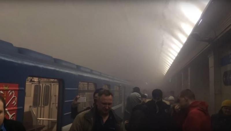 Al menos 9 muertos en el Metro de San Petersburgo por dos explosiones