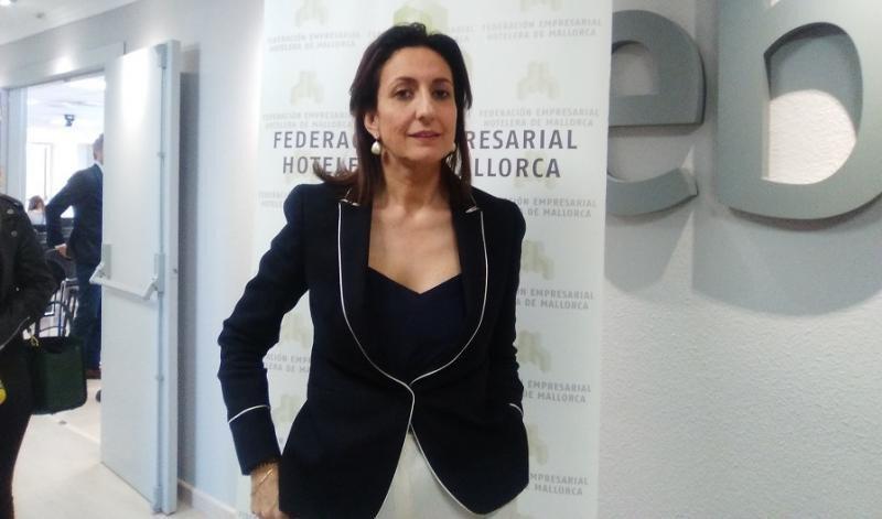 Inmaculada de Benito, presidenta ejecutiva de la FEHM.