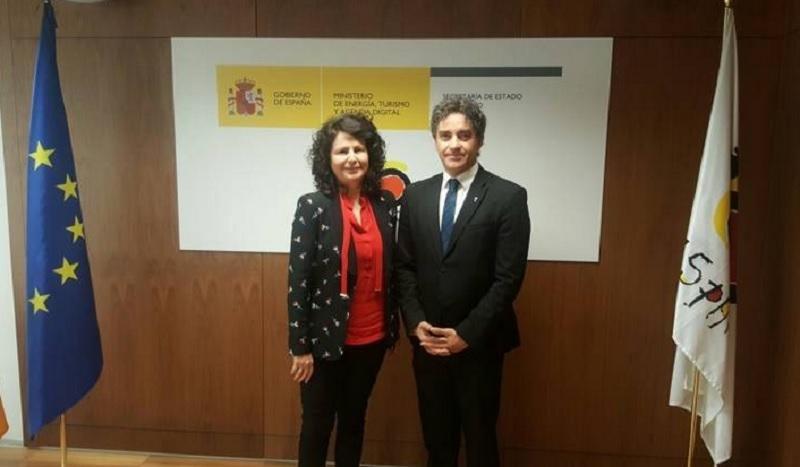 Matilde Asián y Francesc Colomer han mantenido una reunión en la que han hablado sobre la oferta ilegal y el Brexti, entre otros asuntos