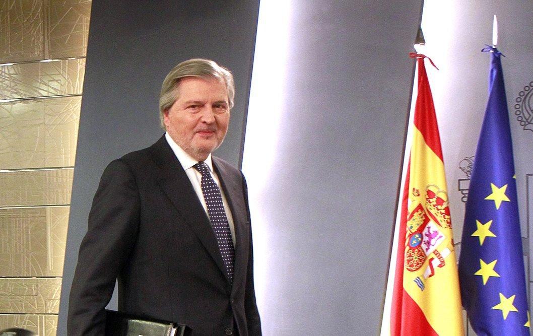 El portavoz del Gobierno y ministro de Educación, Íñigo Méndez de Vigo.