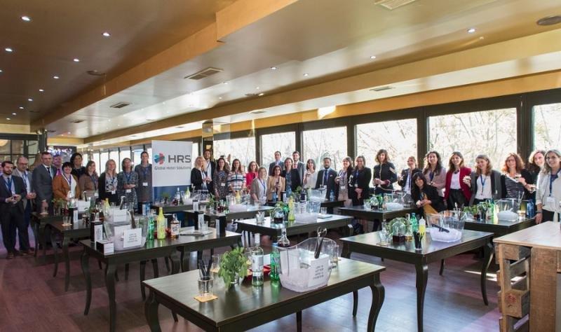 HRS reúne a medio centenar de hoteleros en su roadshow de Madrid