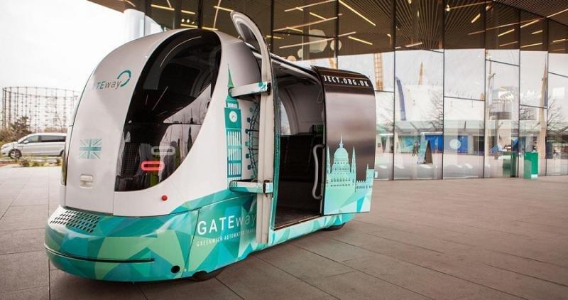 Londres prueba su primer autobús sin conductor