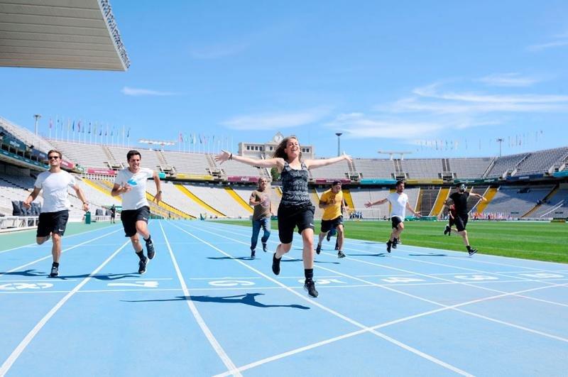 Los visitantes de Open Camp pueden vivir las mismas experiencias que un profesional en unas Olimpiadas en 26 modalidades deportivas.