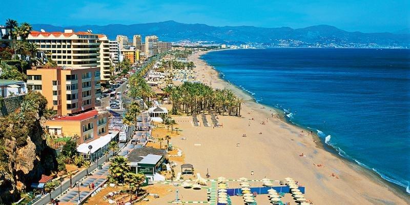 Playa en la Costa del Sol. Foto: Ignacio Acosta.