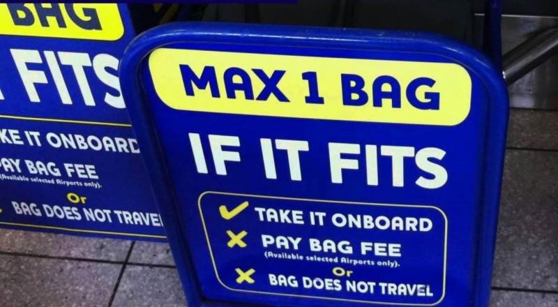 Ryanair pagará 2.000 euros por perder un equipaje que reubicó en bodega