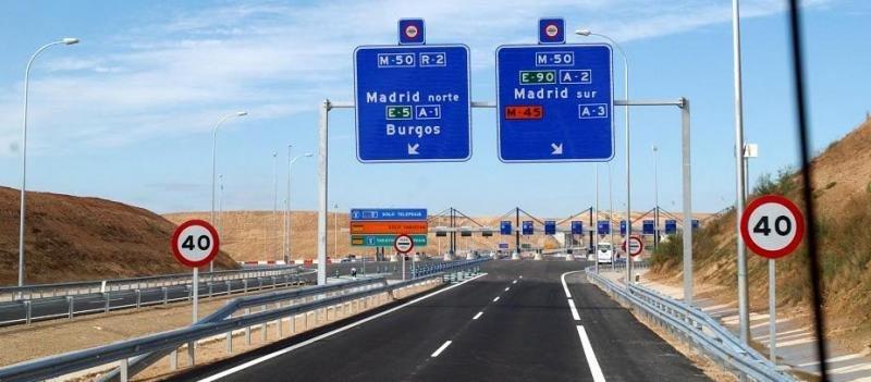 Las ocho autopistas de peaje en quiebra, de nuevo a licitación