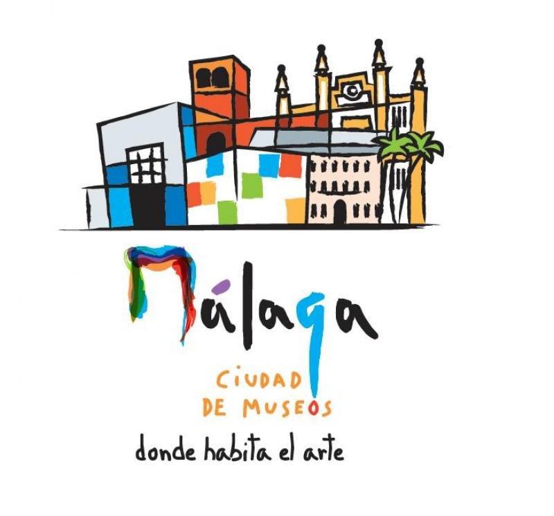 La nueva marca se inspira en los trazos y formas abstractas y cubistas de Picasso y representa seis de los museos simbólicos de la ciudad.