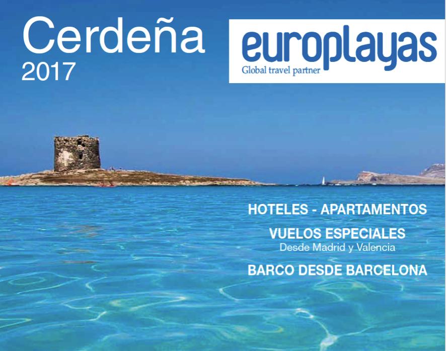 Europlayas lanza nuevas líneas de negocio y vuelos chárter a Cerdeña