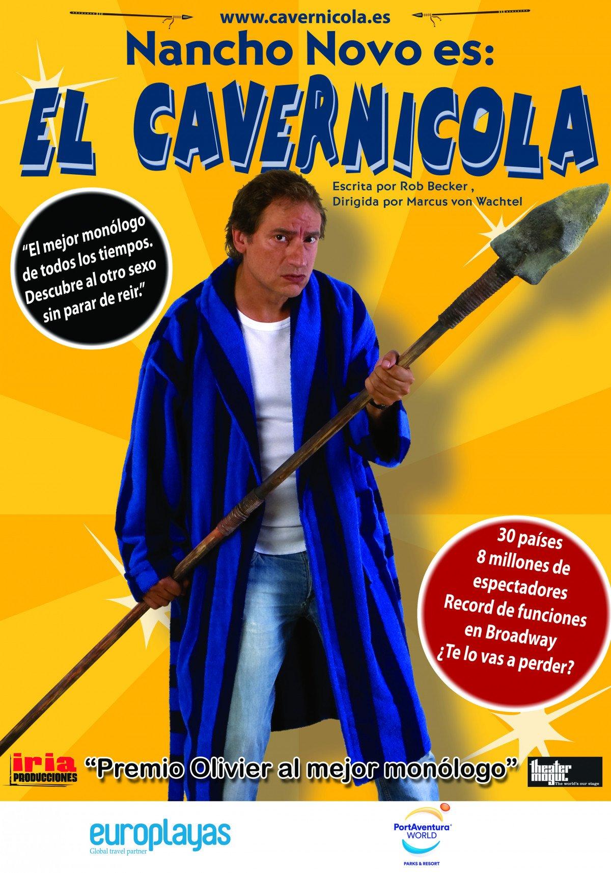 Europlayas reunirá a los agentes de viajes de Madrid, este jueves, 20 de abril, para presentarles sus novedades y disfrutar del espectáculo El Cavernícola.