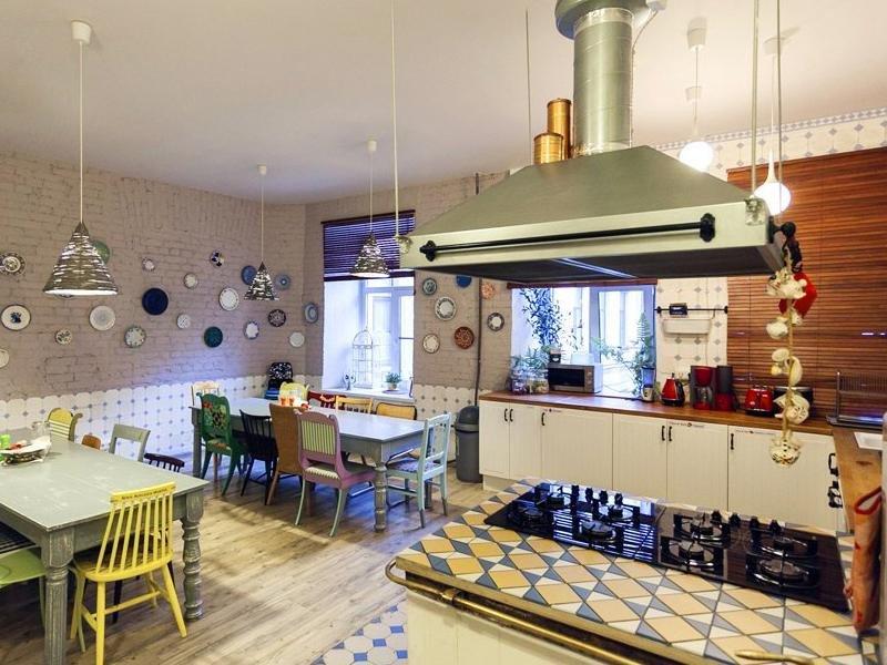Imagen del hostel Soul Kitchen de San Petersburgo.