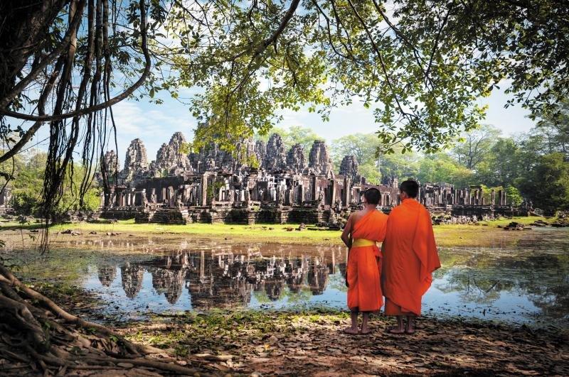 Angkor, en Camboya, es uno de los puntos más atractivos del itinerario.
