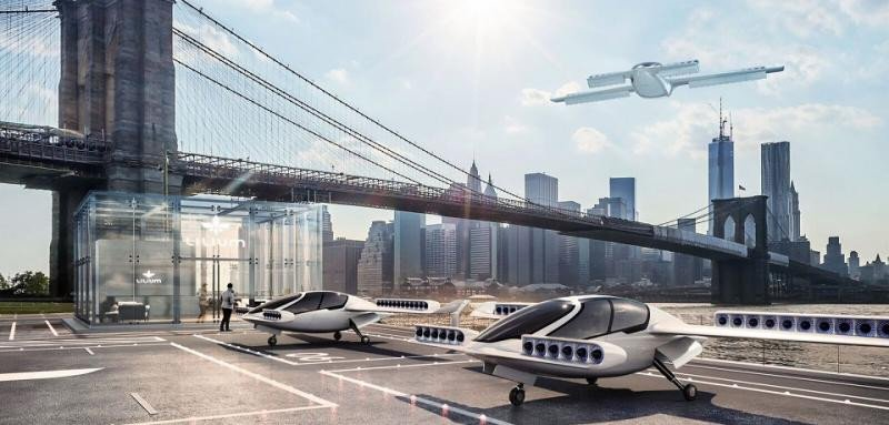 El primer taxi volador, eléctrico y low cost
