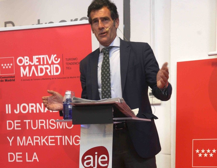 Carlos Chaguaceda, director de Turismo de la Comunidad de Madrid.